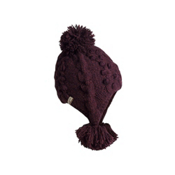 Turtle Fur Nepal Electra Womens Hat, Raisin, medium
