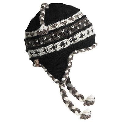 Turtle Fur Nepal Tyler Hat, Black, viewer