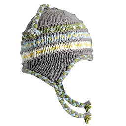 Turtle Fur Nepal Tyler Hat, Charcoal, 256