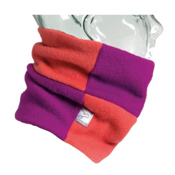 Turtle Fur Rubix Girls Neck Warmer, Berry-Papaya, medium