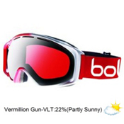 Bolle Gravity Goggles 2013, Red Fade-Vermillon Gun, medium