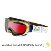 Bolle Simmer Womens Goggles 2013, Gold-Vermillon Gun, medium