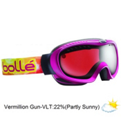 Bolle Simmer Womens Goggles 2013, Raspberry-Vermillon Gun, medium