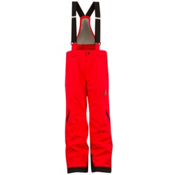 Spyder Force Kids Ski Pants, Red-Black, medium