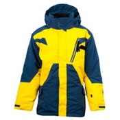 Spyder Sabotage 3 in 1 Boys Ski Jacket, Denim-Sun, medium