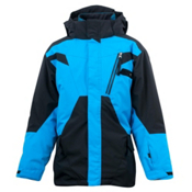Spyder Sabotage 3 in 1 Boys Ski Jacket, Black-Coast, medium