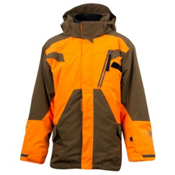 Spyder Sabotage 3 in 1 Boys Ski Jacket, Sergeant-Squeeze, medium