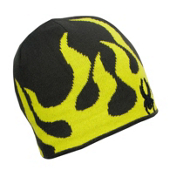 Spyder Fire Kids Hat, Peat-Sharp Lime, medium