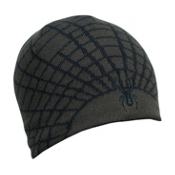 Spyder Web Kids Hat, Peat-Black, medium