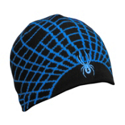 Spyder Web Kids Hat, Black-Collegiate, medium