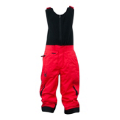 Spyder Mini Expedition Toddlers Ski Pants, Red-Black, medium