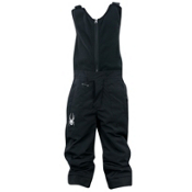 Spyder Mini Expedition Toddlers Ski Pants, Black-Black, medium
