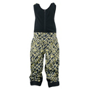 Spyder Mini Expedition Toddlers Ski Pants, Sharp Lime Mosaic Print, medium