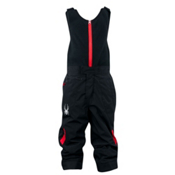 Spyder Mini Expedition Toddlers Ski Pants, Black-Red, medium