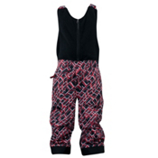 Spyder Mini Expedition Toddlers Ski Pants, Red Mosaic Print, medium