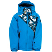 Spyder Mini Armageddon Toddler Ski Jacket, Coast-Coast Live Print, medium