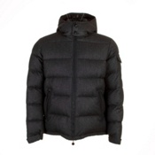 Moncler Montgenevre Mens Jacket, Charcoal, medium