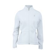 Spyder Core Endure Full Zip Womens Sweater, White, medium