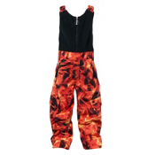Spyder Mini Throw Bib Toddlers Ski Pants, Squeeze Inferno Print, medium