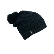 Spyder Brrr Berry Hand Knit Womens Hat, Black, medium