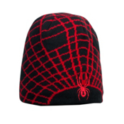 Spyder Mini Web Toddlers Hat, Black-Red, medium