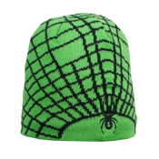 Spyder Mini Web Toddlers Hat, Classic Green-Black, medium