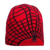 Spyder Mini Web Toddlers Hat, Red-Black, medium