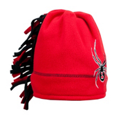 Spyder Mini Cuddle Toddlers Hat, Red-Black, medium
