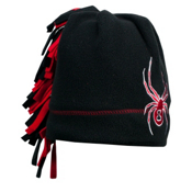 Spyder Mini Cuddle Toddlers Hat, Black-Red, medium