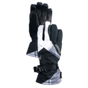 Spyder Synthesis Gore-Tex Womens Gloves, Black-White, medium