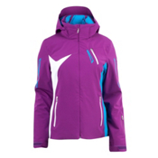 Spyder Artemis Womens Insulated Ski Jacket, Gypsy-Coast-White, medium