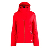 Spyder Power Athletic Fit Womens Insulated Ski Jacket, Volcano, medium