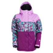 Orage Meisa Girls Ski Jacket, Light Purple-Grape, medium