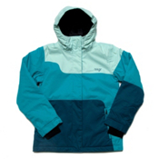 Orage Meisa Solid Girls Ski Jacket, Dark Teal, medium