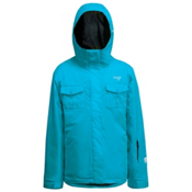 Orage Antares Girls Ski Jacket, Teal, medium