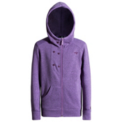 Orage Shimmer Kids Hoodie, Light Purple, medium