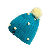 Orage Curtain Beanie Kids Hat, Teal, medium