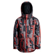 Orage Code Boys Ski Jacket, Ski Flame, medium