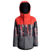 Orage Code Solid Boys Ski Jacket, Flame, medium
