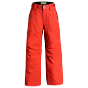 Orage Tarzo Kids Ski Pants, Flame, medium