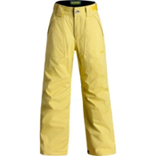 Orage Tarzo Kids Ski Pants, Lemon, medium