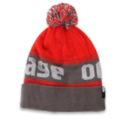 Orage Brown Beanie Kids Hat, Dark Grey, medium