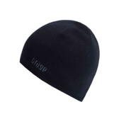 Orage Rim Beanie Kids Hat, Black, medium