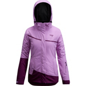 Orage Leila Womens Insulated Ski Jacket, Light Purple-Dark Purple, medium