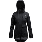 Orage Kendra Womens Insulated Ski Jacket, Black, medium
