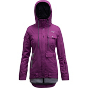 Orage Kendra Womens Insulated Ski Jacket, Dark Purple, medium