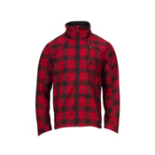 Spyder Fresh Air Novelty Soft Shell Ski Jacket, Red Plaid, medium