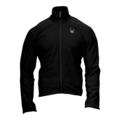 Spyder Speed Full Zip Fleece Mens Jacket, Black, medium