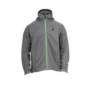 Spyder Core Upward Full Zip Hoodie, Castlerock-Classic Green, medium