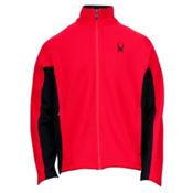 Spyder Core Constant Full Zip Mens Sweater, Red-Black, medium